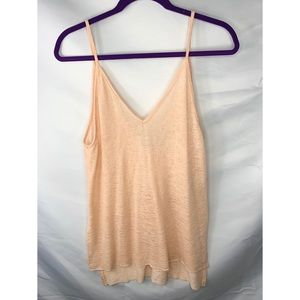 Project Social T peach tank top size S